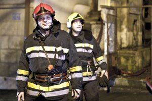 Fireman after job well done