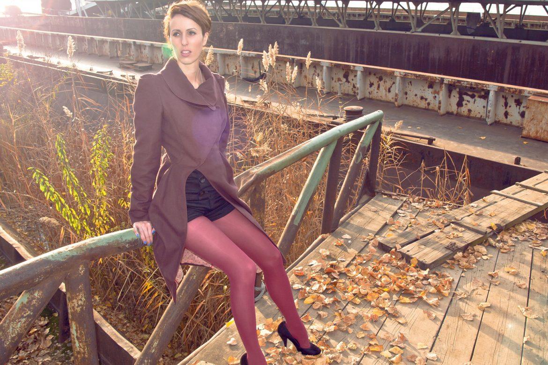 Model in Marko Glavinic coat