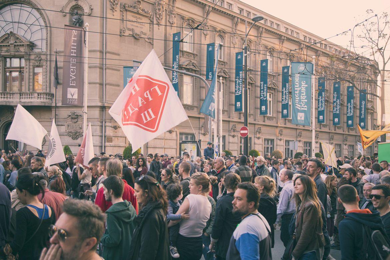 Protest Belgrade Waterfront