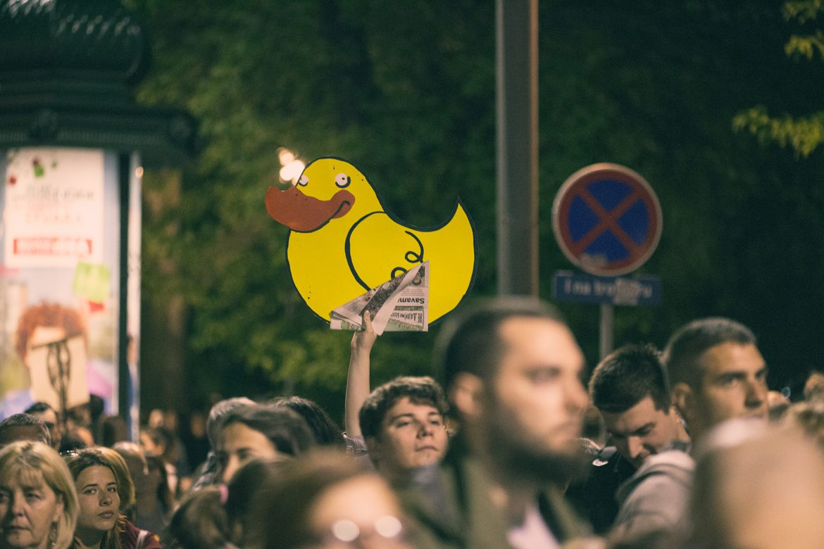Protest Yellow Duck