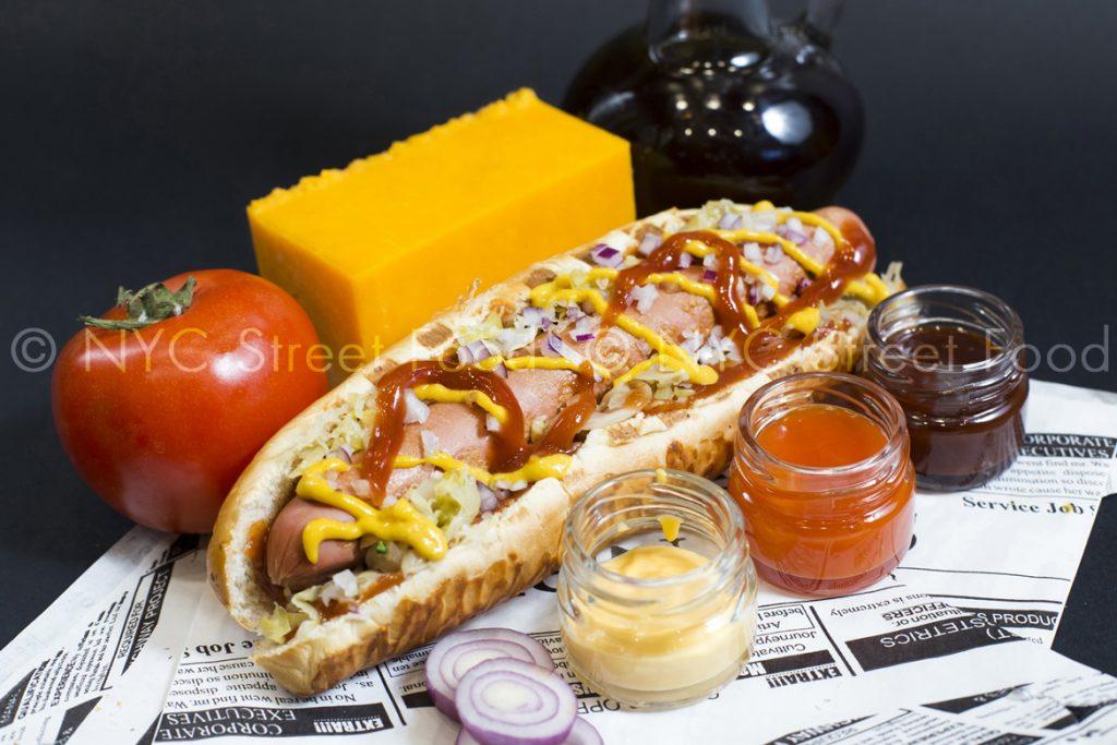Cheddar Cheese Hot-Dog