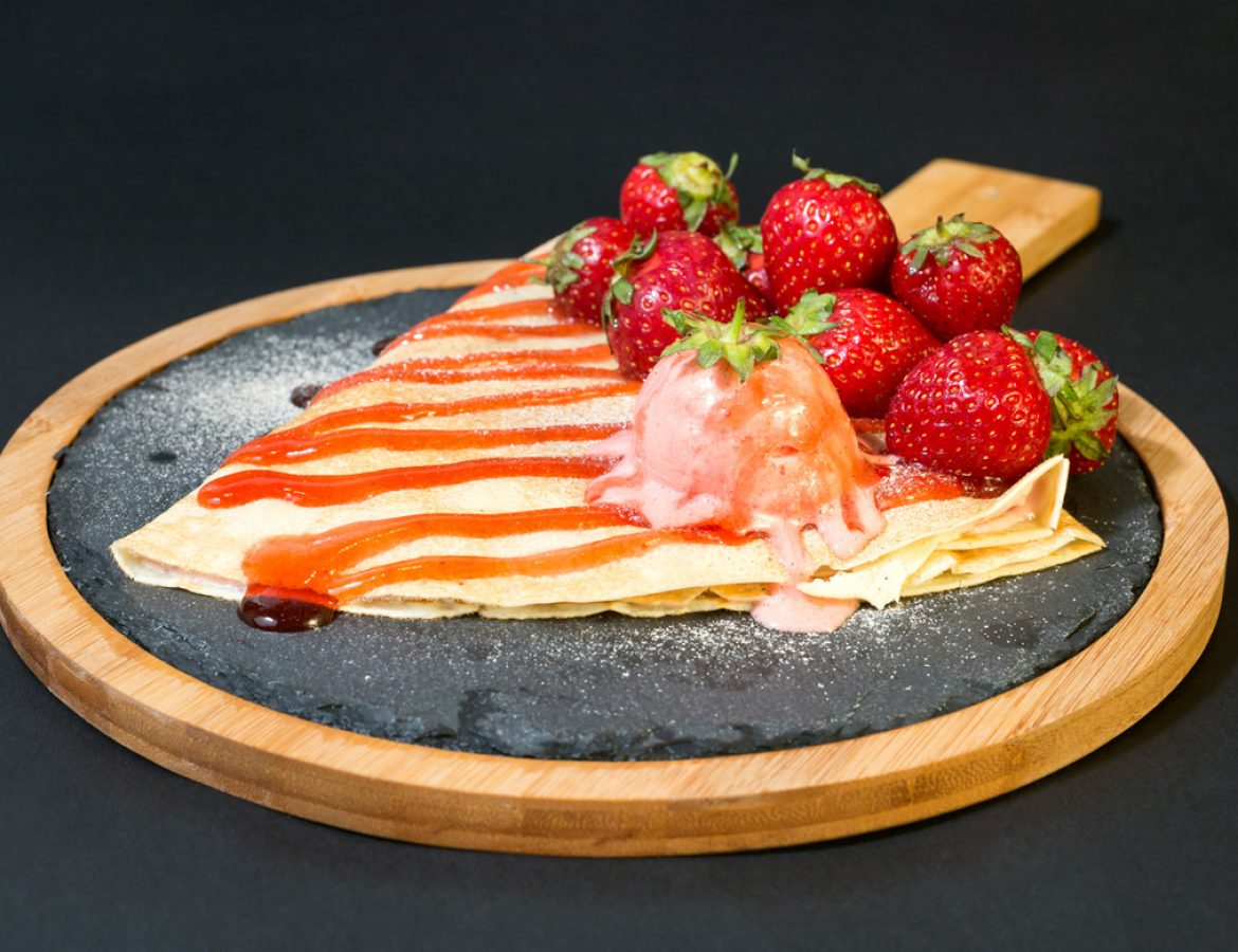 Strawberry-Crepe